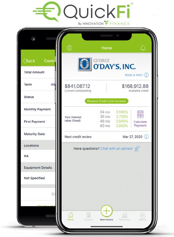 QuickFi Financing through O'Day